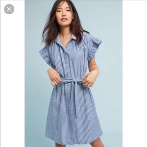 Isabella Sinclair Piper Striped Shirt Dress